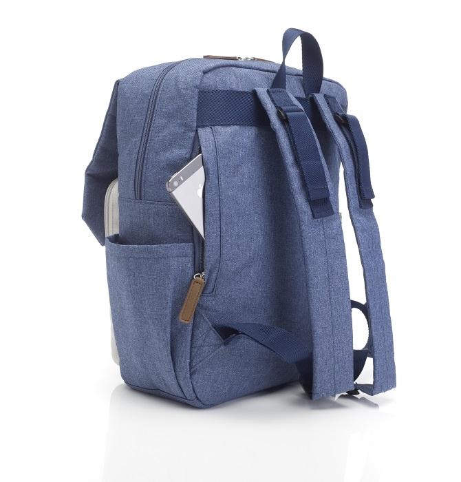 Zdjęcie Babymel Plecak dla Taty George Blue/Oatmea