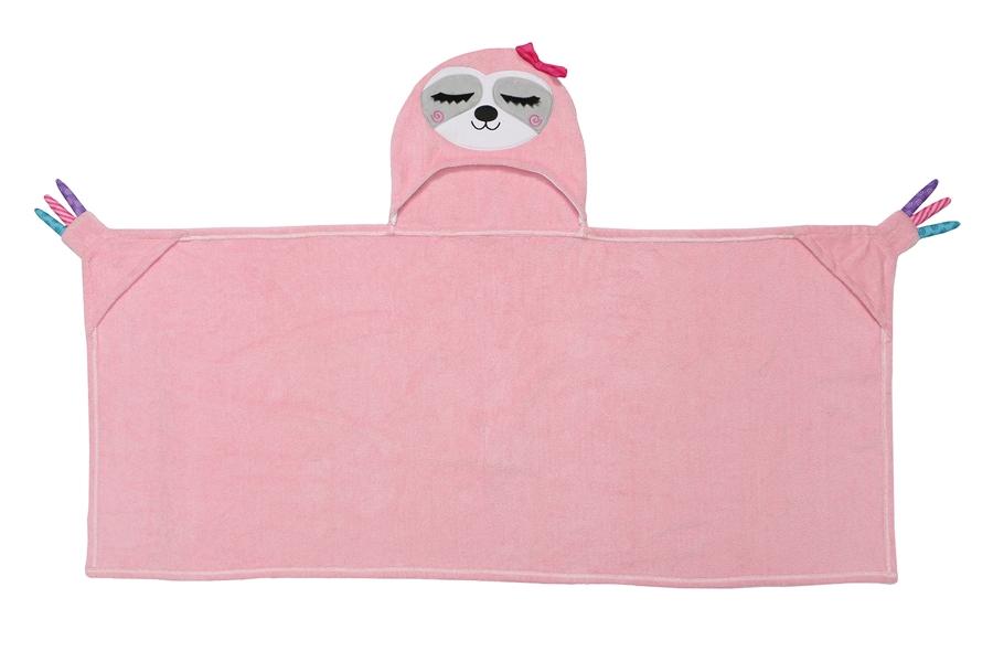 Zdjęcie Zoocchini Ręcznik dla Dziecka z Kapturem Leniwiec
