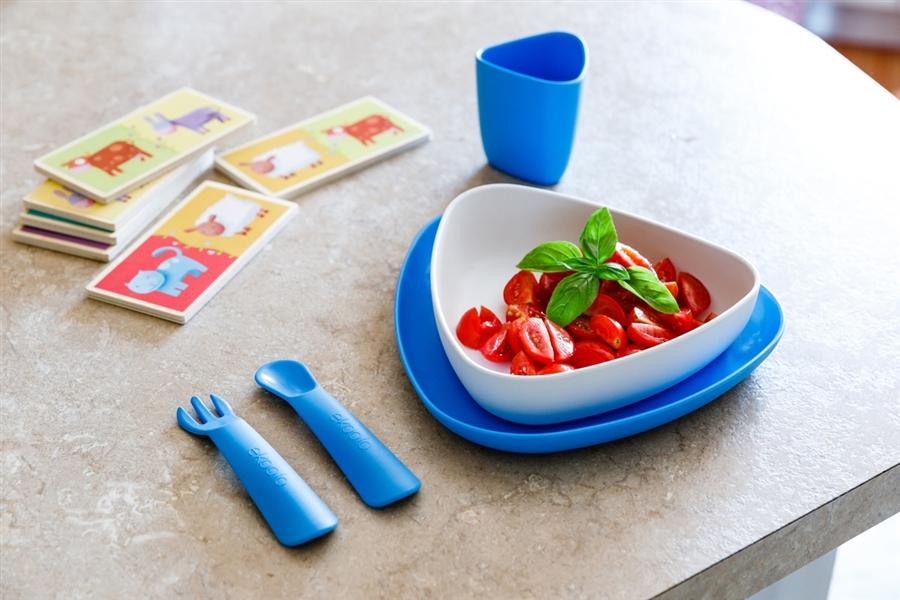 Zdjęcie eKoala Zestaw Obiadowy Boy BIOplastik