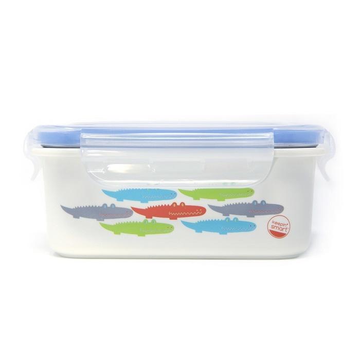 Zdjęcie Innobaby Lunchbox Stalowy Aligator Blue