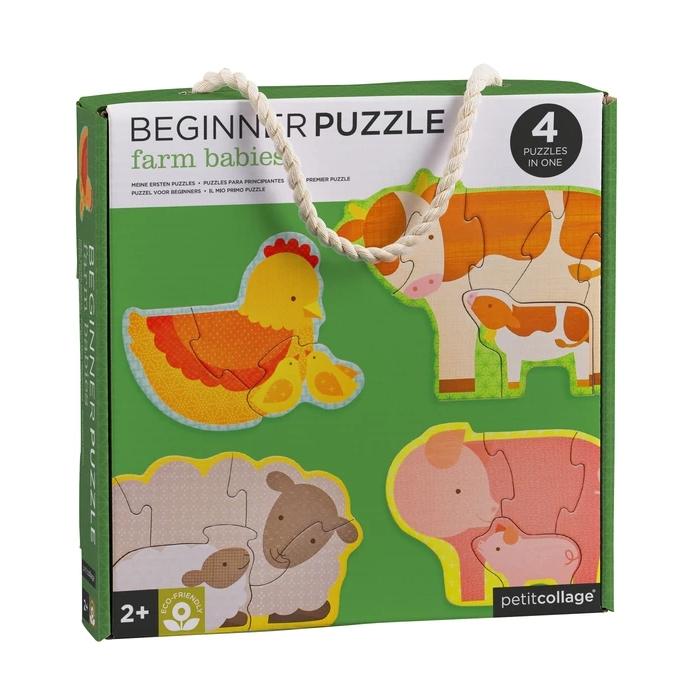 Zdjęcie Petit Collage Pierwsze Puzzle Farma Baby