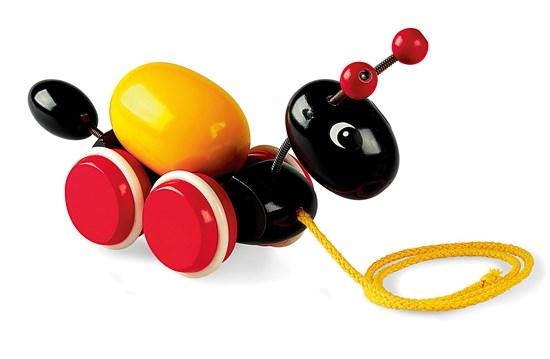 Zdjęcie BRIO Zabawka do Ciągnięcia Mrówka