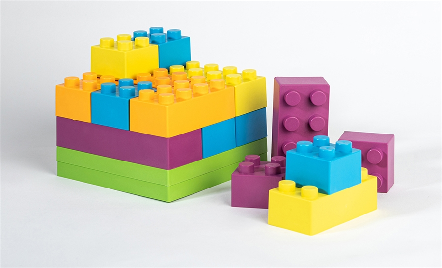Zdjęcie ekoala Klocki dla Dzieci BIOplastik 19 szt