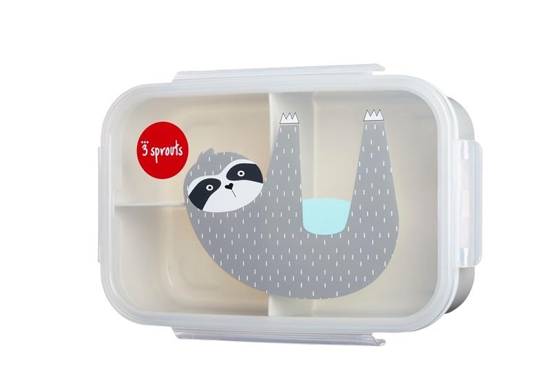 Zdjęcie 3 Sprouts Lunchbox Bento Leniwiec Grey