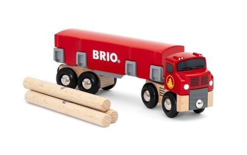 Zdjęcie BRIO World Ciężarówka do Transportu Drewna