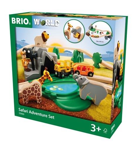 Zdjęcie BRIO World Kolejka Drewniana Safari