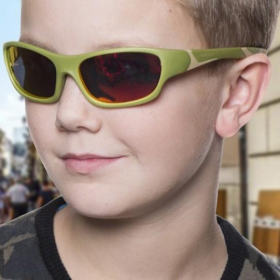 Zdjęcie KOOLSUN Okulary SPORT Army Green 6-12 lat