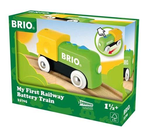 Zdjęcie BRIO Moja Pierwsza Lokomotywa Na Baterię