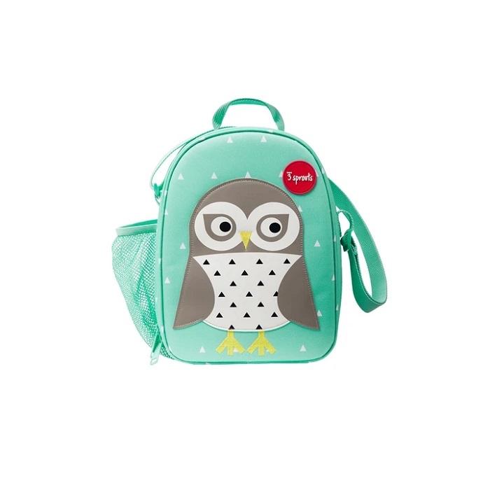 Zdjęcie 3 Sprouts Lunch Bag Dla Dzieci Sowa