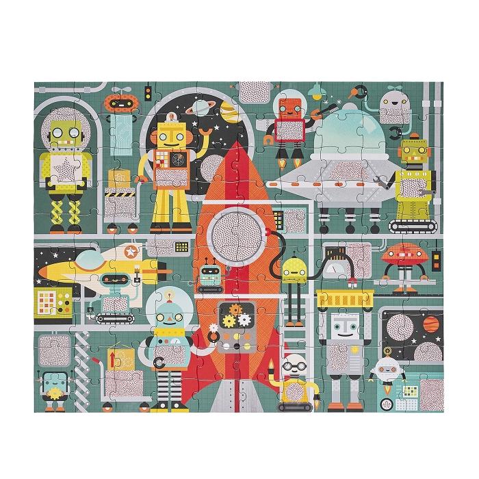 Zdjęcie Petit Collage Puzzle Ukryte Obrazki Robot