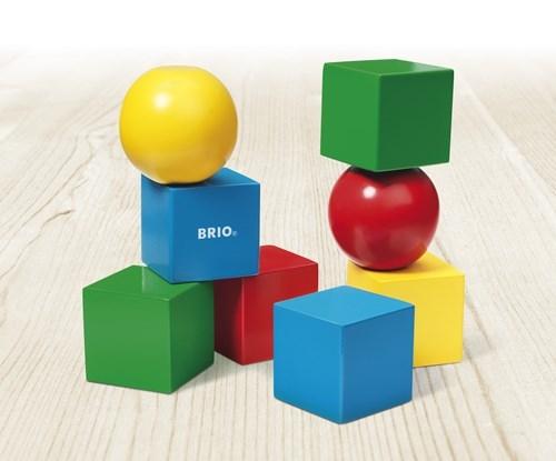 Zdjęcie BRIO Klocki Magnetyczne Drewniane