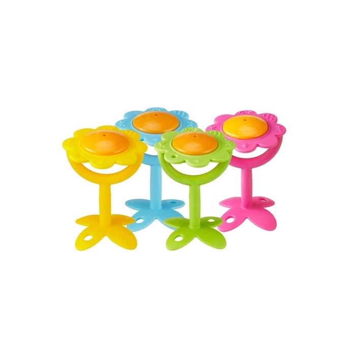 Zdjęcie Innobaby Gryzak Grzechotka Kwiatek Green