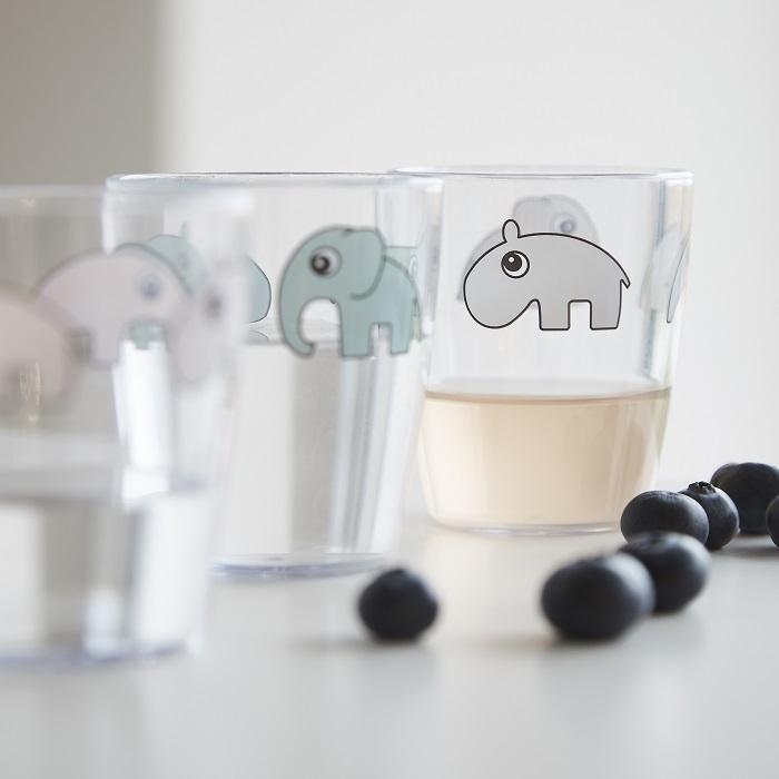 Zdjęcie Done by Deer Yummy Kubek Mini Glass Grey