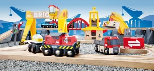 Zdjęcie BRIO World Kolejka Drewniana Cargo Deluxe
