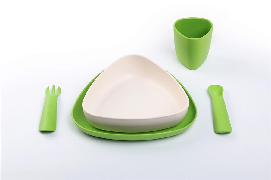 Zdjęcie eKoala Zestaw Obiadowy Green BIOplastik