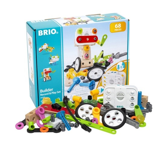 Zdjęcie BRIO Builder Zestaw z Rejestratorem Dźwięk