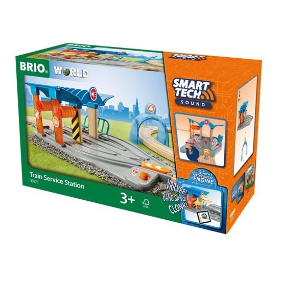 Zdjęcie BRIO Smart Tech Stacja Serwisowa Pociągów