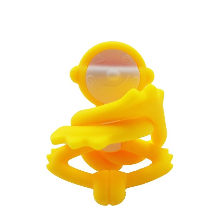 Zdjęcie Mombella Gryzak Zabawka Małpka Yellow