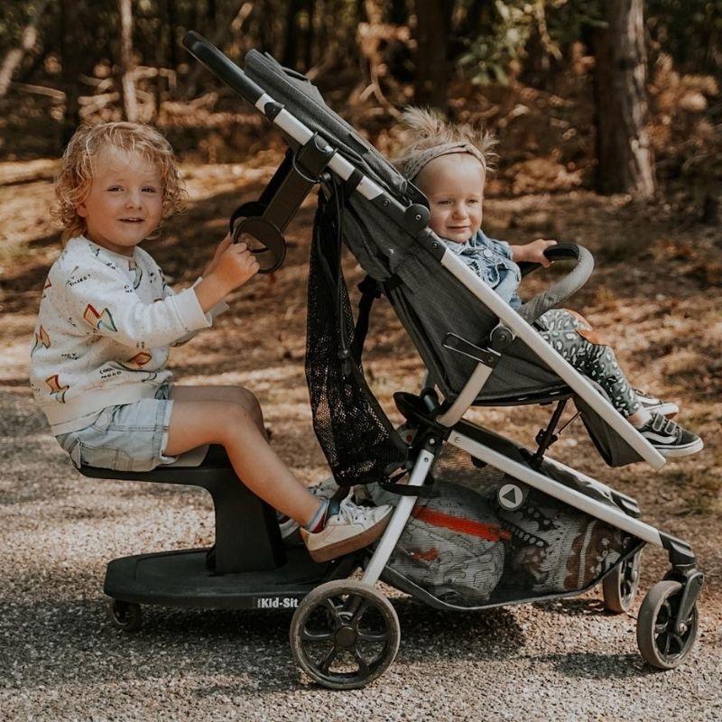 Zdjęcie EVE Dodatkowa Rączka do Wózka Black LOOPIE