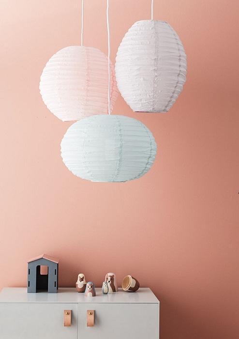 Zdjęcie Kids Concept Abażur do Lampy Owalny Green