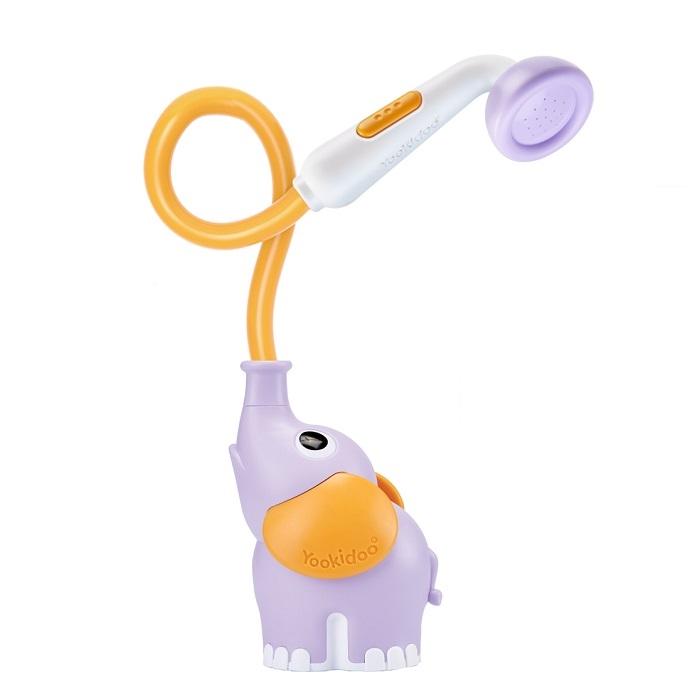 Zdjęcie Yookidoo Prysznic dla Dzieci Słonik Purple