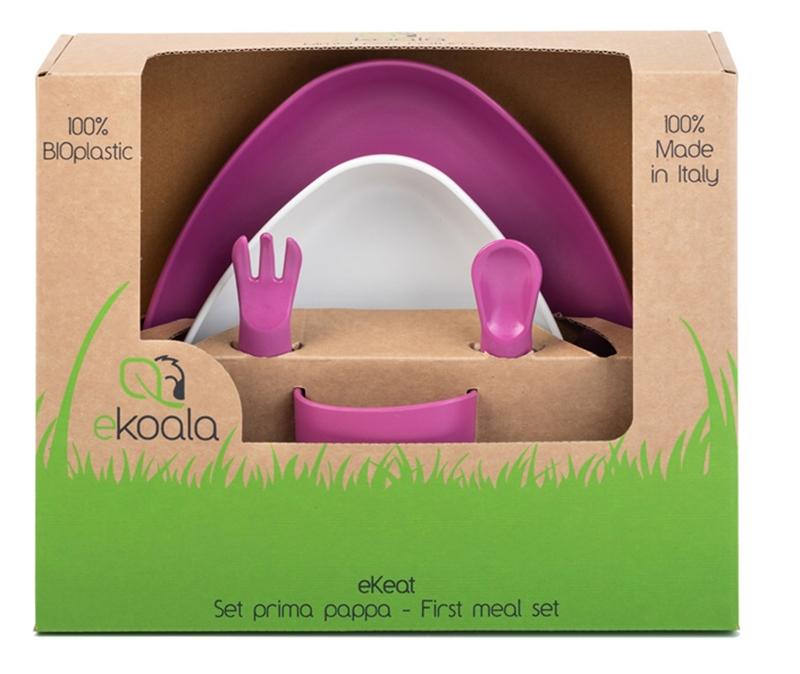 Zdjęcie eKoala Zestaw Obiadowy Girl BIOplastik