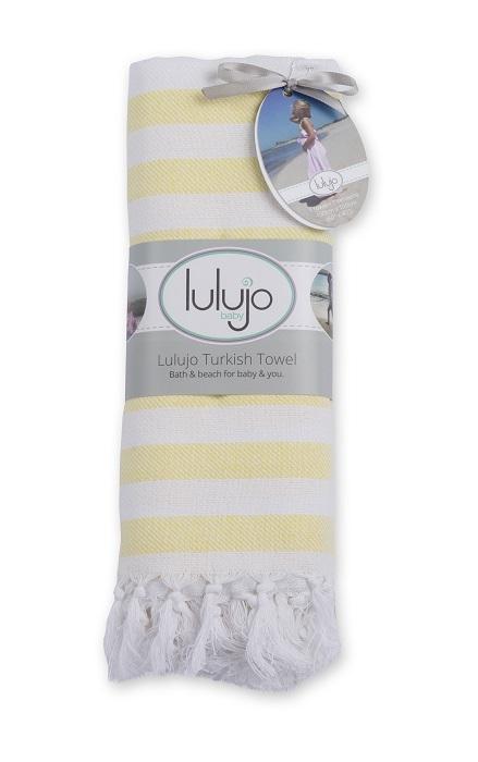 Zdjęcie Lulujo Ręcznik Turecki 3w1 Sunshine Yellow