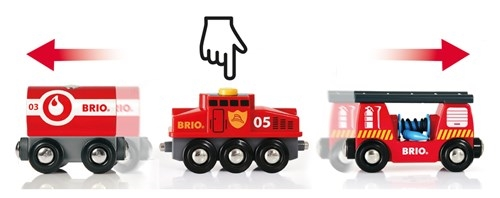 Zdjęcie BRIO World Pociag Straży Pożarnej