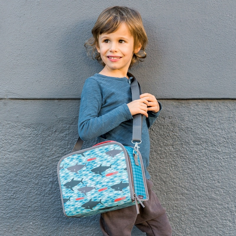 Zdjęcie Petit Collage Lunchbox Ekologiczny Rekin