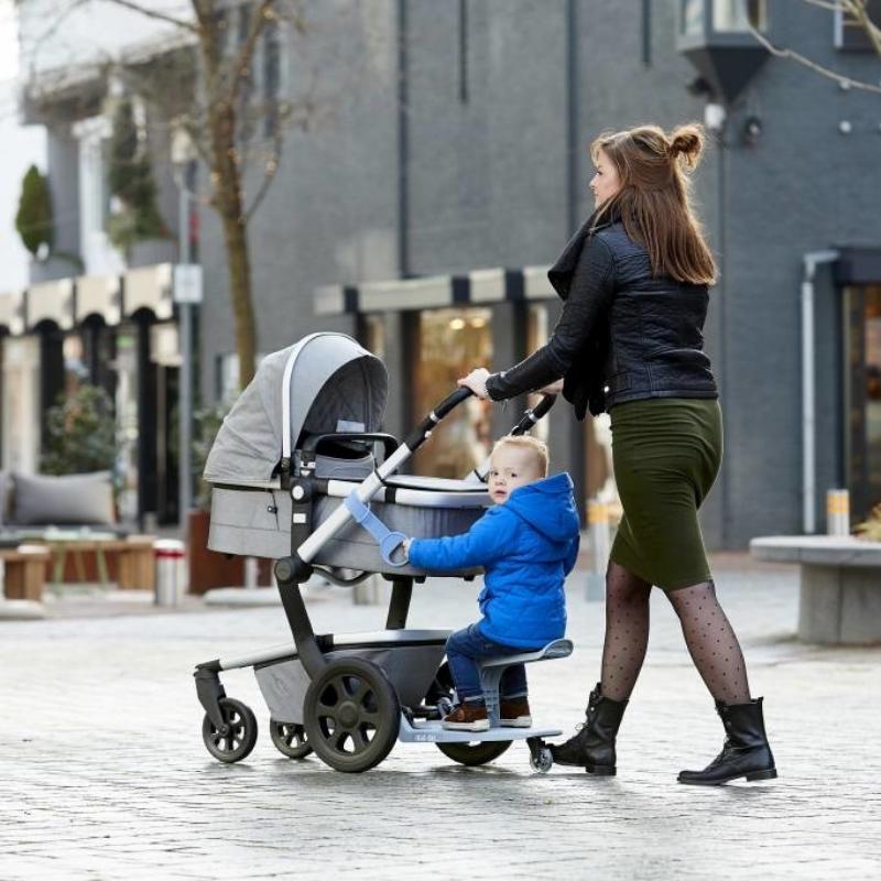 Zdjęcie EVE Dostawka do Wózka z Siedziskiem KID-SIT Grey