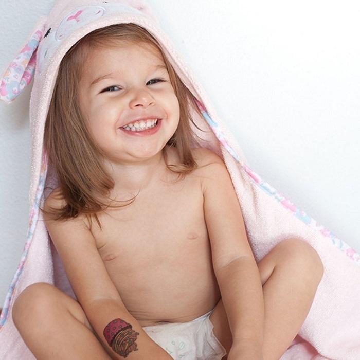 Zdjęcie Zoocchini Ręcznik Mały z Kapturem Królik