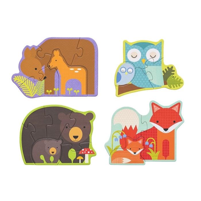 Zdjęcie Petit Collage Pierwsze Puzzle Leśne Zwierz