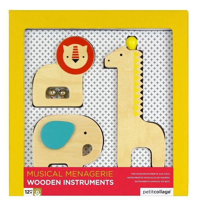 Zdjęcie Petit Collage Instrumenty Drewniane Safari