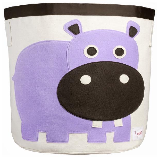 Zdjęcie 3 Sprouts Kosz Na Zabawki Hipopotam