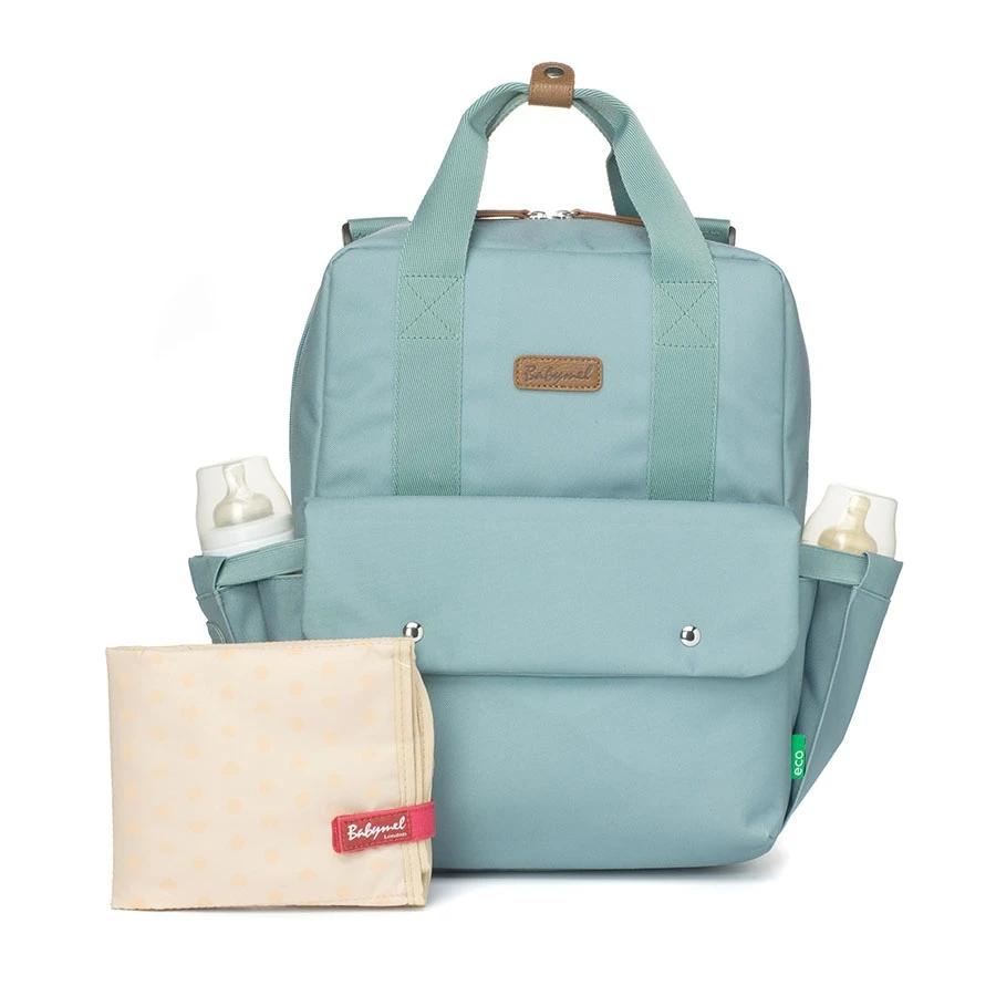 Zdjęcie Babymel Eco torba i plecak Georgi Aqua