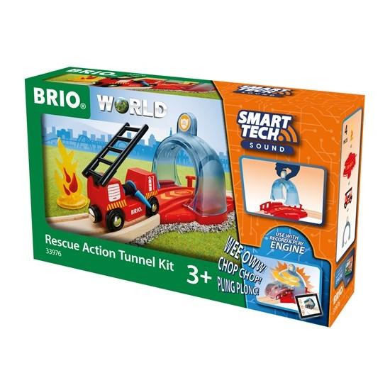 Zdjęcie BRIO Smart Tech Tunel Alarmowy ze Strażą
