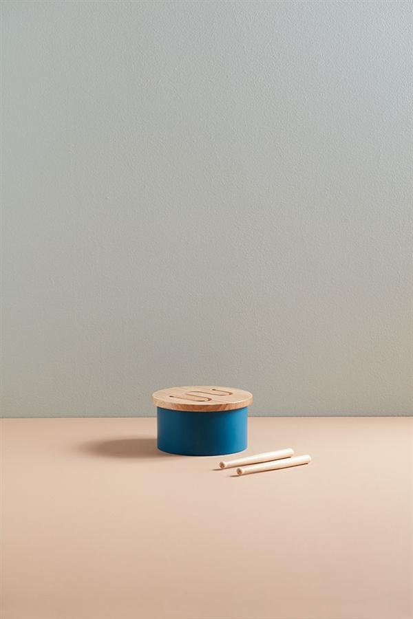 Zdjęcie Kids Concept Bębenek Dla Dziecka Mini Blue