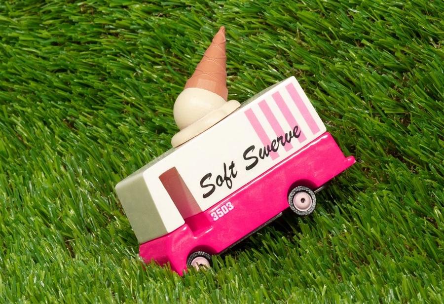 Zdjęcie Candylab Samochód Drewniany Ice Cream Van