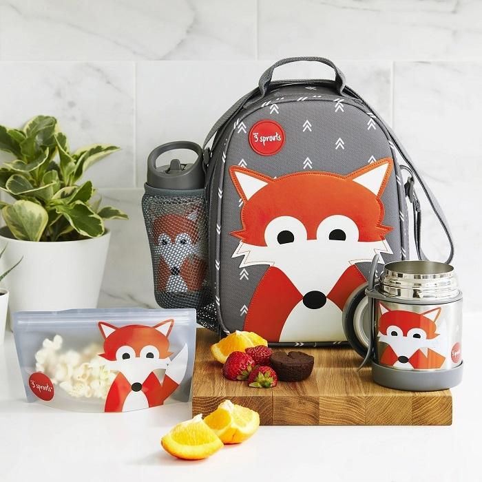 Zdjęcie 3 Sprouts Lunch Bag Dla Dzieci Lis