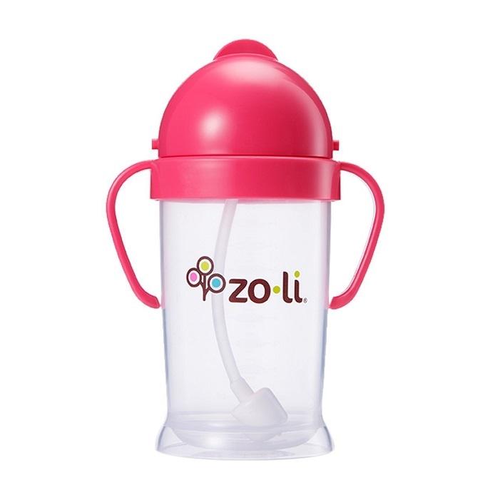 Zdjęcie ZoLi BOT XL Kubek Niekapek 270 ml Pink