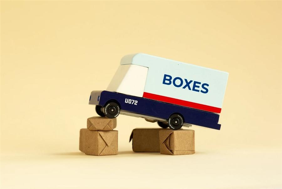 Zdjęcie Candylab Samochód Drewniany Mail Van