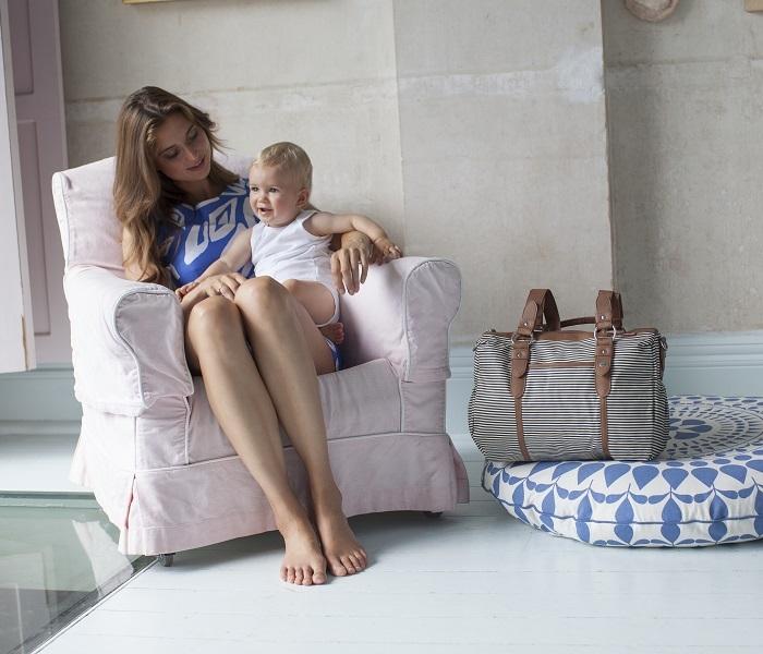 Zdjęcie Babymel Torba dla Mamy Ella Stripe Navy