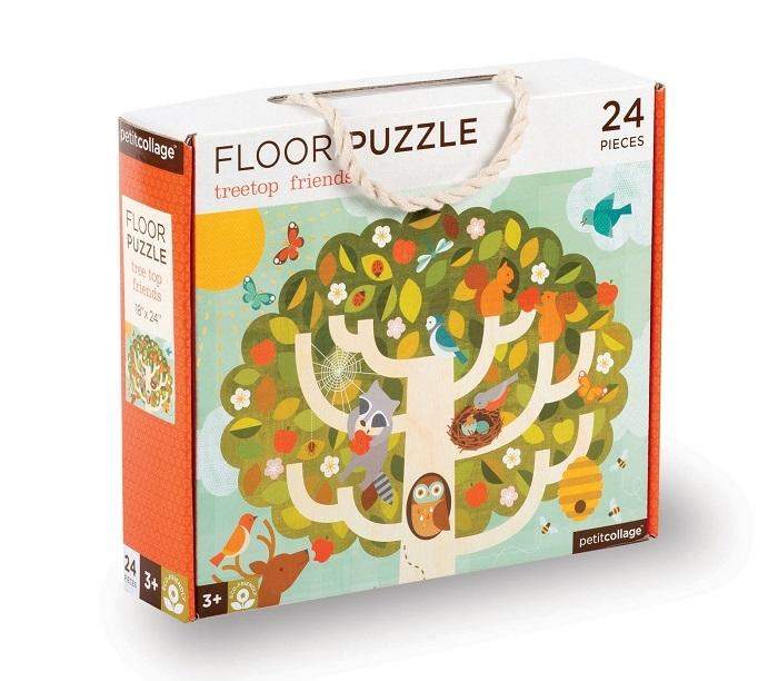 Zdjęcie Petit Collage Puzzle Podłogowe Drzewo