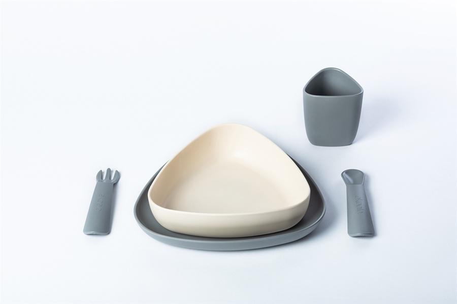 Zdjęcie eKoala Zestaw Obiadowy Stone BIOplastik