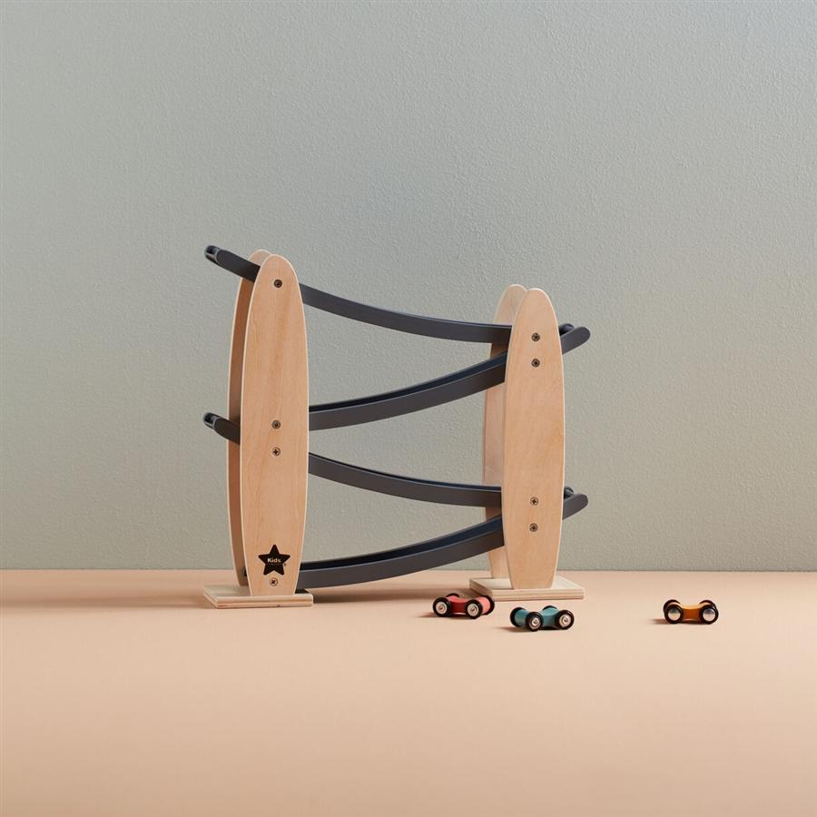 Zdjęcie Kids Concept Zjeżdżalnia Drewniana Grey