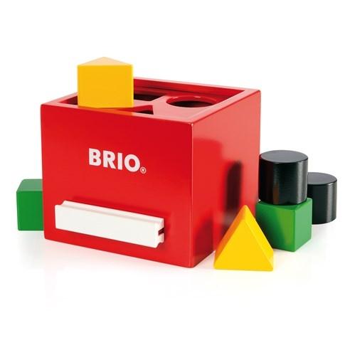 Zdjęcie BRIO Drewniany Sorter Kształtów Retro