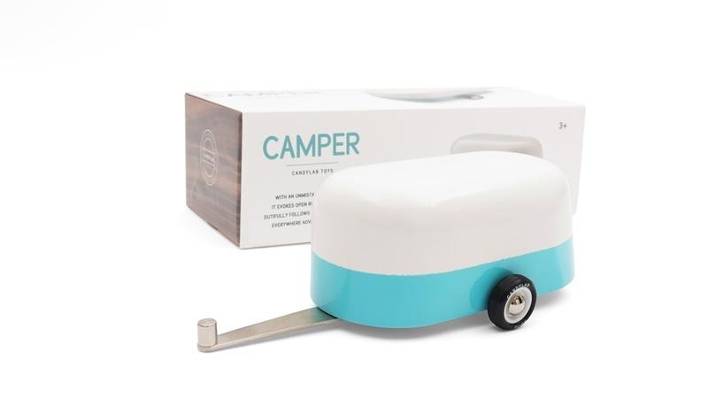 Zdjęcie Candylab Przyczepa Drewniana Blue Camper