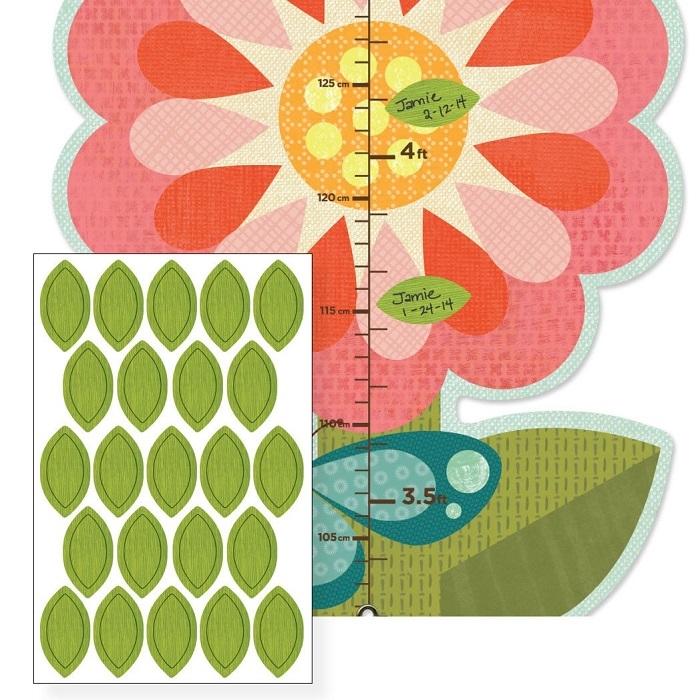 Zdjęcie Petit Collage Miarka Wzrostu Ogród