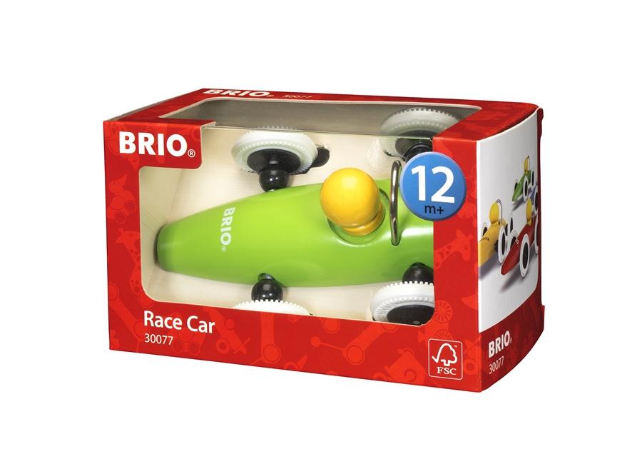 Zdjęcie BRIO Samochód Drewniany Wyścigówka Zielona