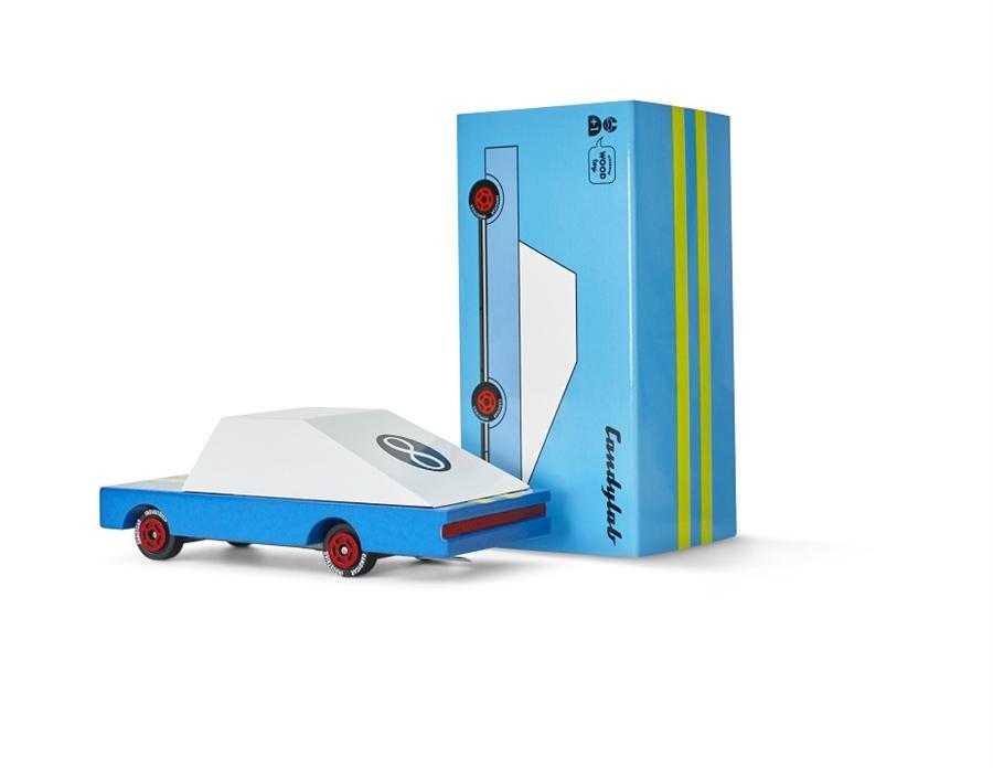 Zdjęcie Candylab Samochód Drewniany Blue Racer
